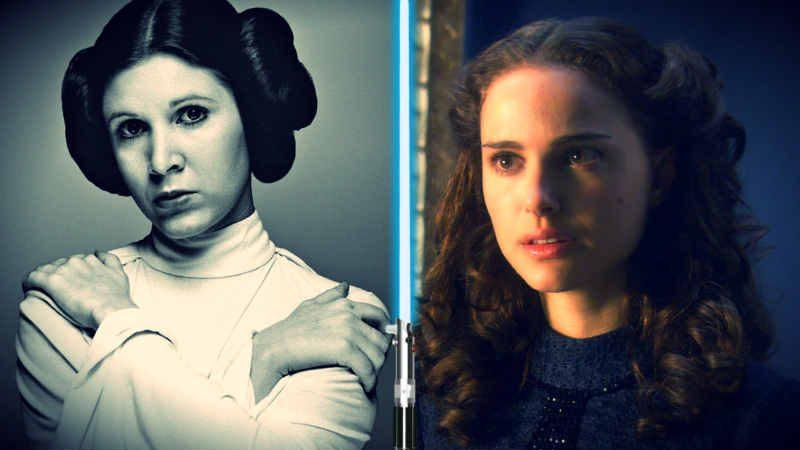 Star Wars Leia Organa ricorda Padmé madre organa ricorda madre padme amidala film fumetto forza Colin Trevorrow Episodio IX