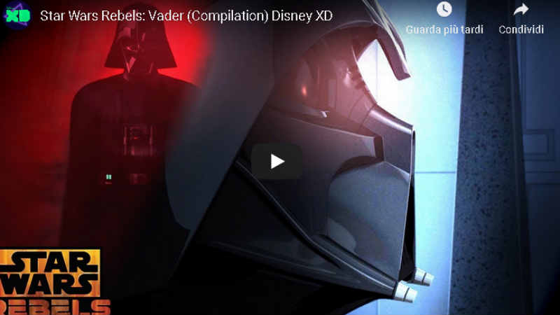 star wars rebels video darth vader compilation disney xd