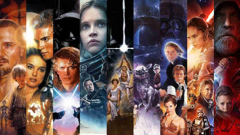 Star Wars tutti i film all movie saga voti imdb fan pubblico