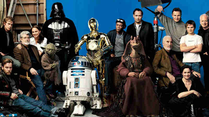 star wars vanity fair foto cast tutto guerre stellari mark hamill