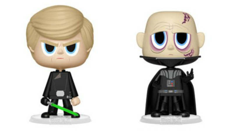 Star wars Episode VI - Return of the Jedi Darth Vader and Luke Skywalker Vynl Figure 2-Pack funko
