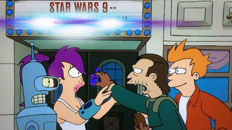 star wars 9 futurama
