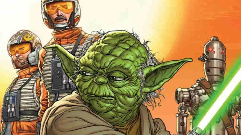 star wars age of rebellion speciale marvel comics yoda andrea broccardo