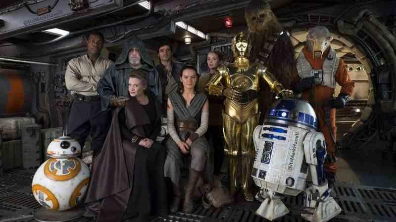 star wars cast last jedi ultimi jedi