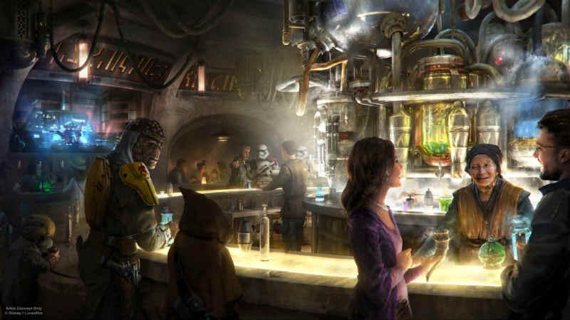 Star Wars Galaxy's Edge: si potrà interagire, contrattare, bere blue milk e…
