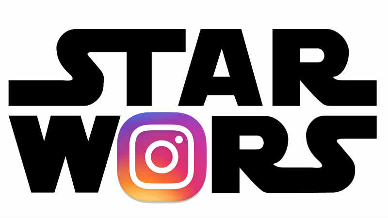 star wars instagram logo @starwars account ufficiale official