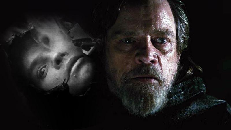Star Wars luke skywalker giovane vecchio