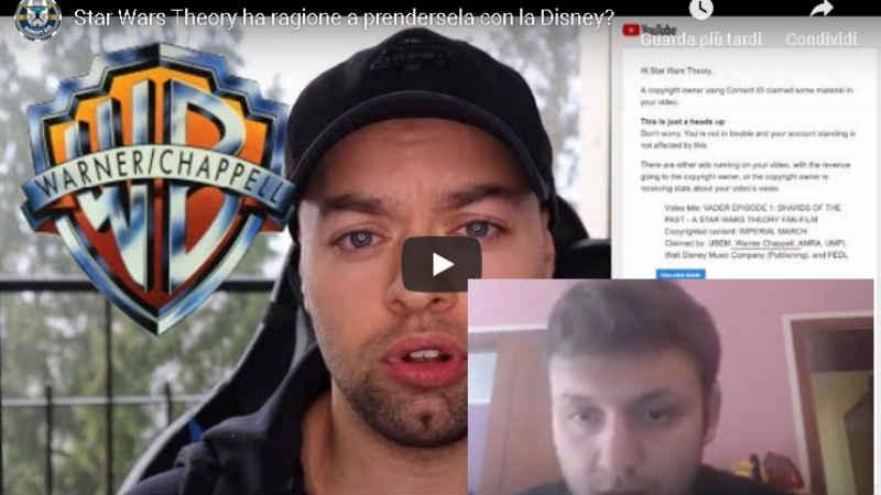 star wars theory disney video analisi caso spiegazioni youtuber italiano