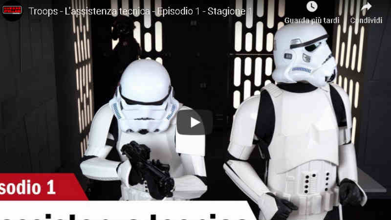 star wars troops sit com youtube mondi futuri video episodio