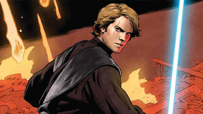star wars age of republic marvel comics anakin skywalker