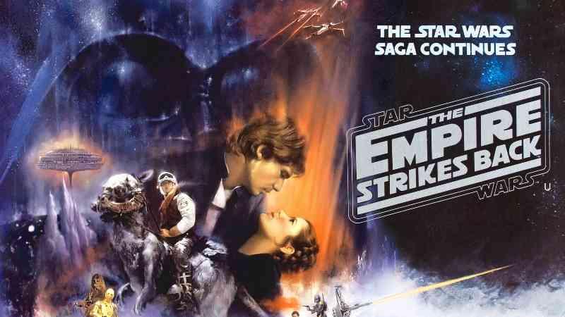 star wars episodio V impero colpisce ancora locandina
