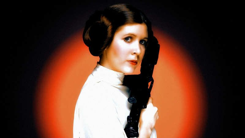 Star Wars Leia Organa Force User