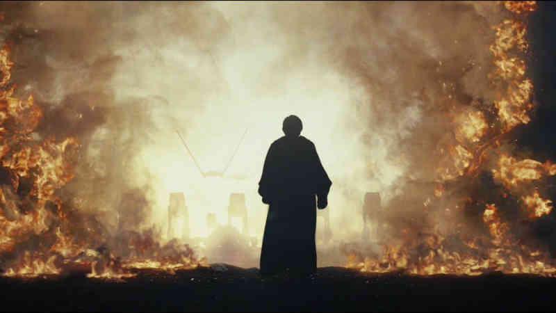 star wars luke fuoco last jedi gli ultimi jedi eroe eroismo