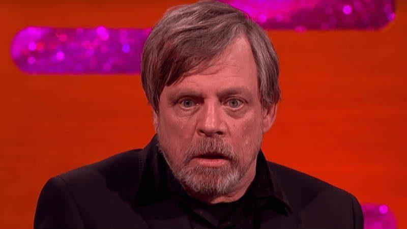 Star Wars Mark Hamill faccia arrabbiato