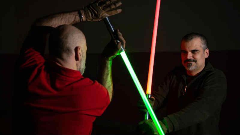 star wars scuola spade laser arte marziale