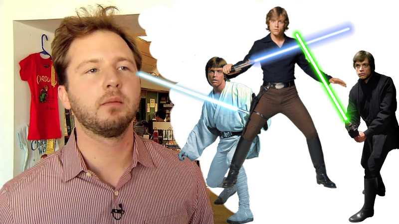 Adam Gidwitz star wars luke skywalker