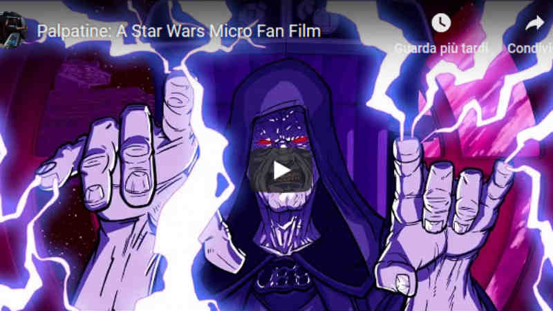 Palpatine A Star Wars Micro Fan Film VIDEO