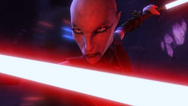 asajj ventress Star Wars battlefront II