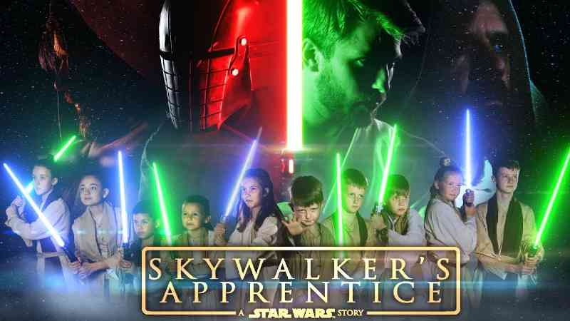 skywalker's apprentice star wars fan film video youtube