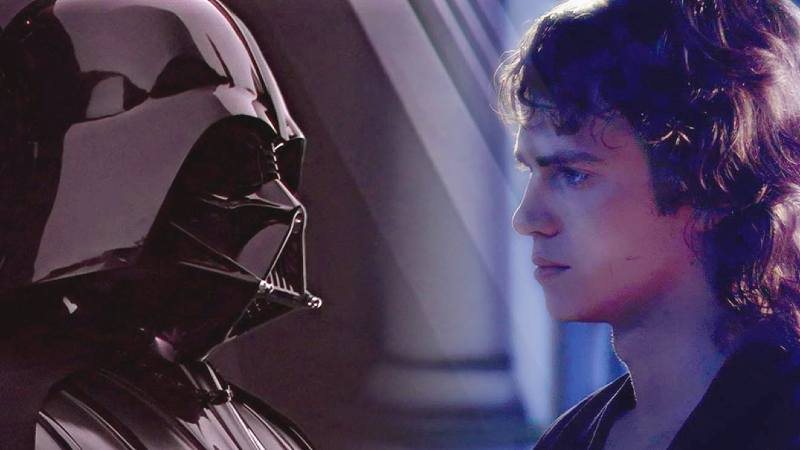 Darth Vader star wars anakin skywalker darth vader confronto