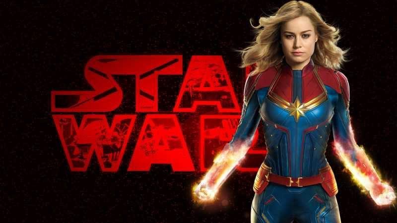 star wars captain marvel logo
