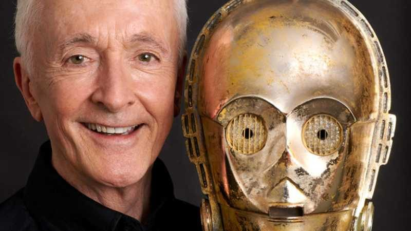 Star Wars celebration 2019 anthony daniels c3po foto