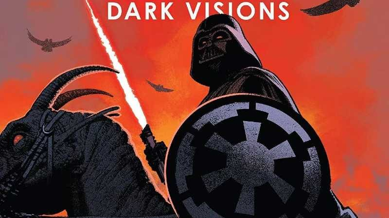 Star Wars Darth Vader dark vision 1 marvel comics