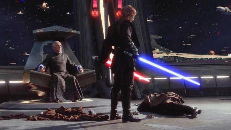 star wars episodio iii 3 anakin skywalker uccide dooku la vendetta dei sith