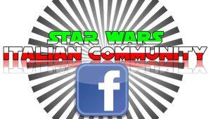 star wars italian community logo facebook gruppo italia fans