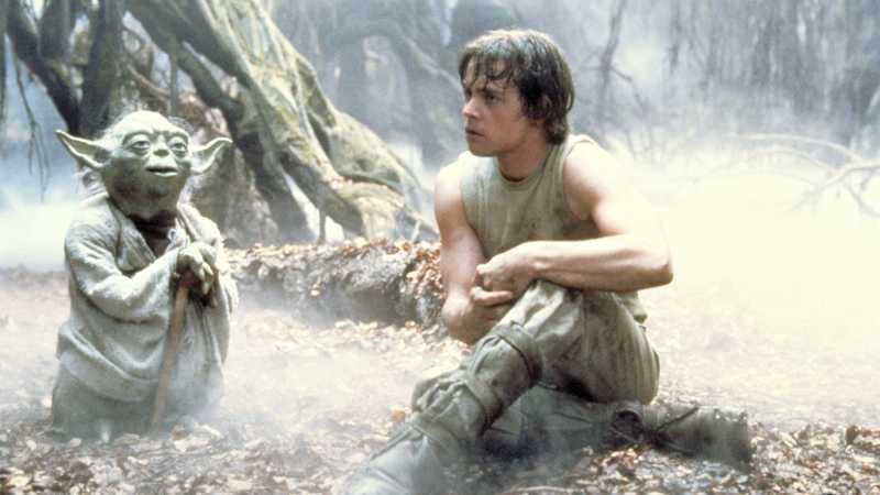 Star Wars luke yoda episodio v impero colpisce ancora bespin allenamento