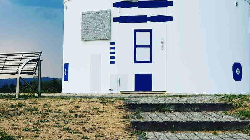 star wars osservatorio r2-d2