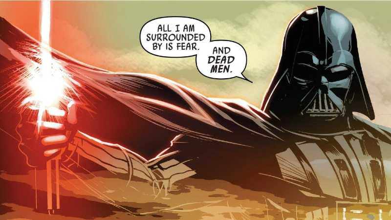 star wars vader down mike deodato jr.
