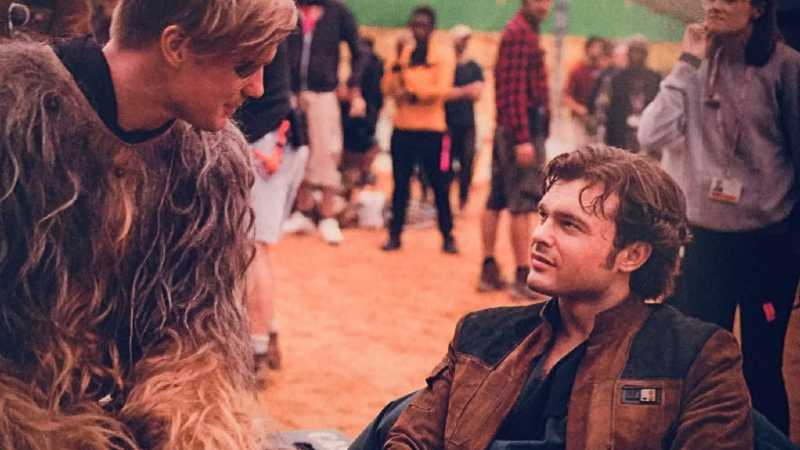 Joonas Suotamo Star Wars Solo 2 sequel Chewbacca attore