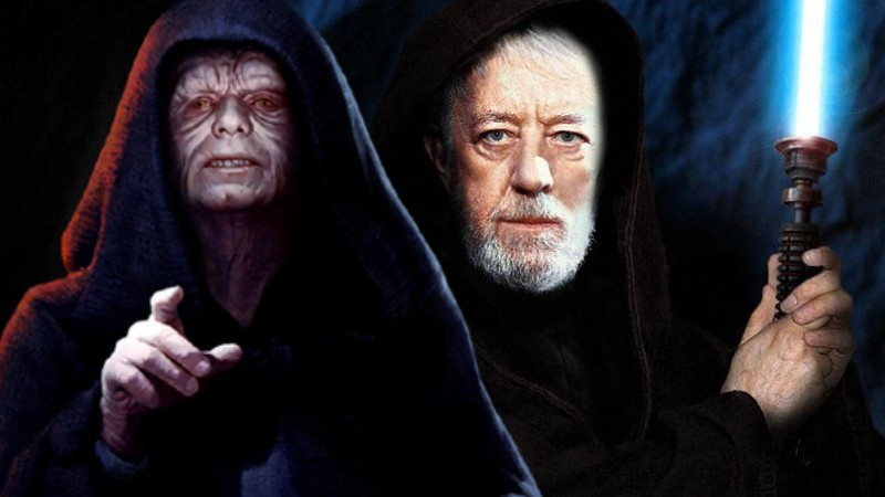 Star Wars From a certain point of view ben kenobi visione palpatine imperatore
