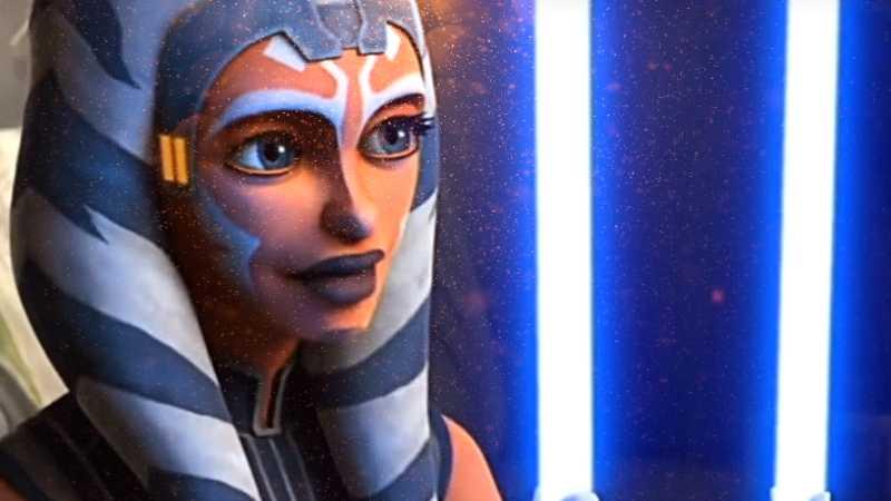Star Wars ahsoka tano nuove spade laser blu Star Wars