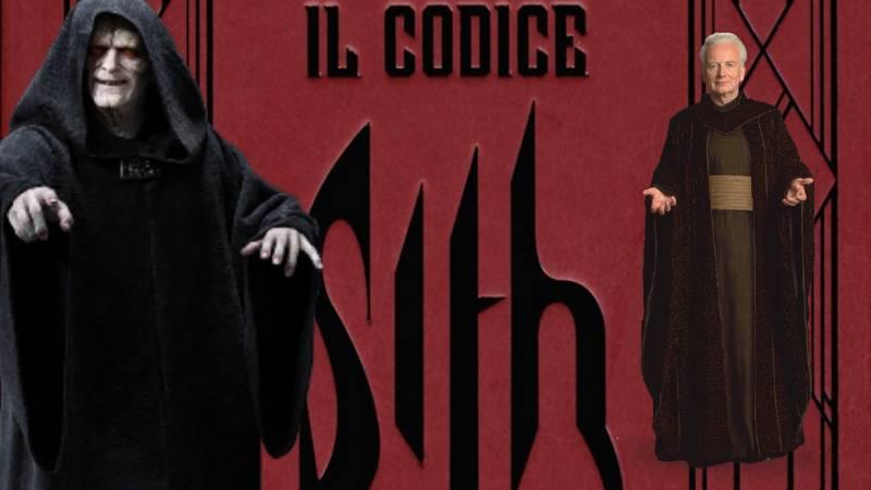 codice dei sith libro imperatore palpatine immortalita