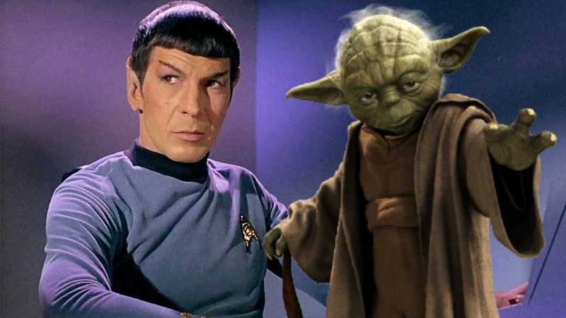 focus spock yoda ricerca universitaria star wars star trek