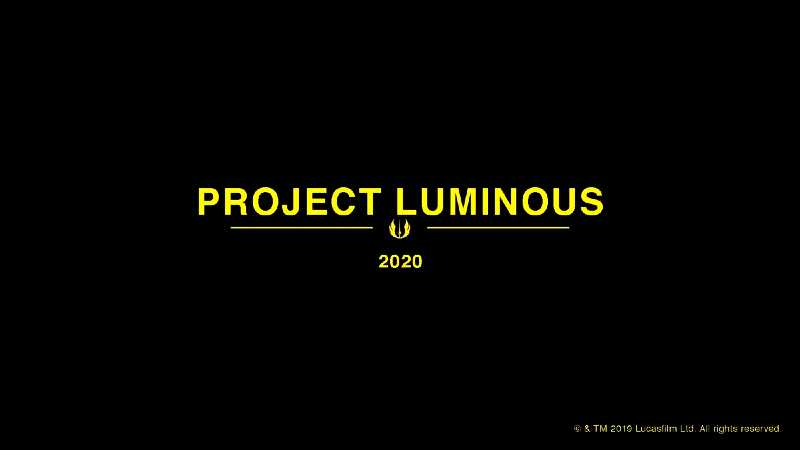 project luminous star wars lucasfilm publishing