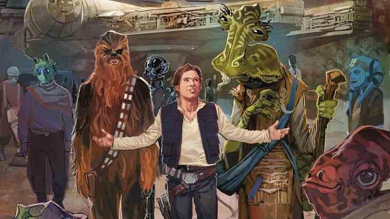 star wars galaxy's edge 1 marvel han solo chewbacca