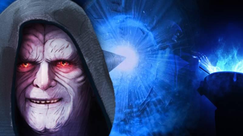 Star Wars imperatore darth sidious sheev palpatine rituale lato oscuro mondo tra i mondi vivo