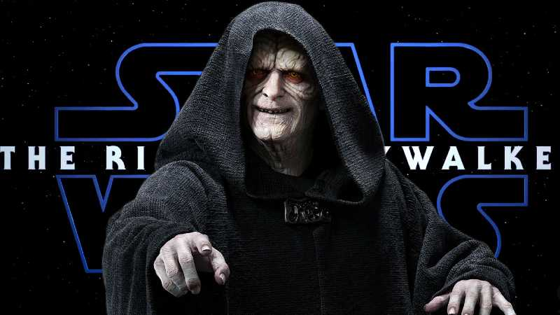 Star Wars imperatore palpatine rise of skywalker