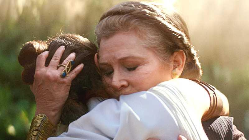 Star Wars the rise of skywalker leia organa episodio ix 9