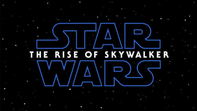 star wars the rise of skywalker logo ufficiale episodio ix