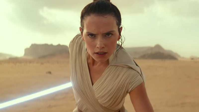 Star Wars rise of skywalker rey star wars episodio ix l'ascesa di skywalker Halloween 2019