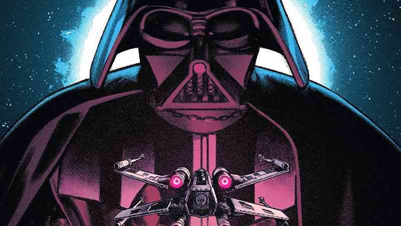Star Wars Darth Vader Dark Vision Star Wars 4 Marvel Comics copertina italia