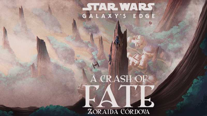 Star Wars A Crash of Fate libro romanzo