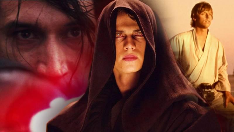 Star Wars Trilogie Saga Profezia Kylo Ren Anakin Skywalker Luke Darth Vader