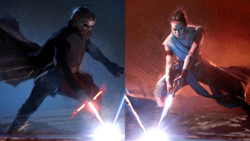 Star Wars ascesa di skywalker art of