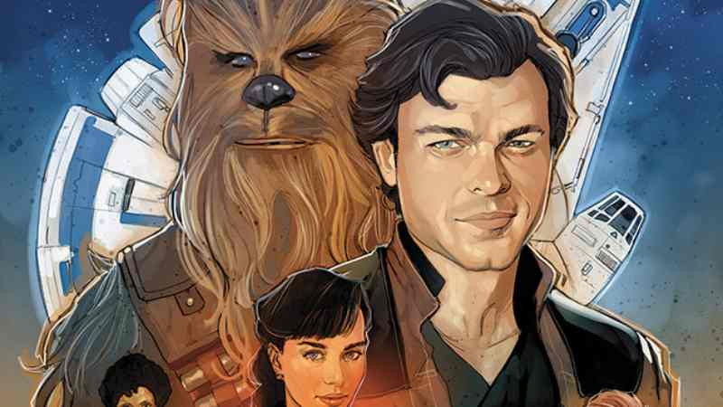 Solo A Star Wars Story fumetti