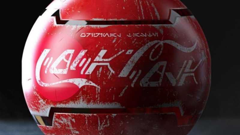 Star Wars Coca Cola Canone Galaxy's Edge